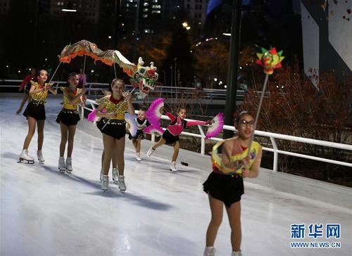 芝加哥举行元宵节庆祝活动