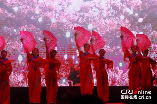民族舞蹈串烧《中国美》。 (王新俊 摄)