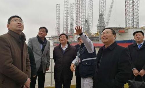 王华主任率团赴海门经济技术开发区实地考察