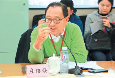 庄绍绥委员在发言(李婕 摄)