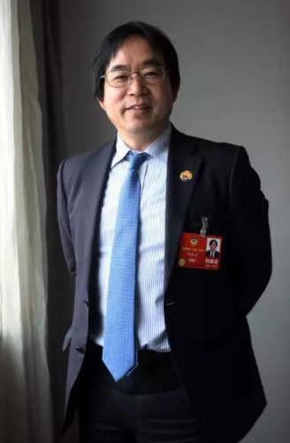3月6日,日本亚洲通讯社社长徐静波在北京接受专访。《东方新报》特约记者李国庆摄