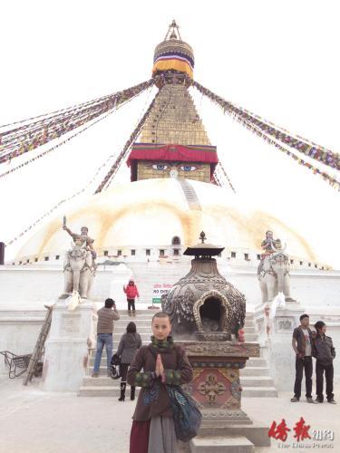 去印度修行。