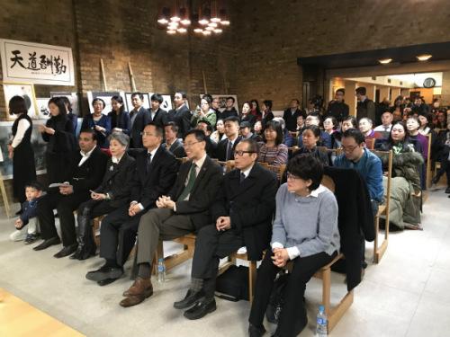 百余位华侨华人参加了当天的活动。