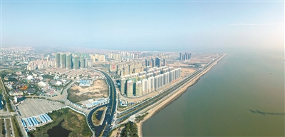 正在崛起的汕头东海岸新城。