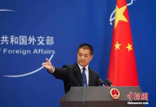 资料图:中国外交部发言人陆慷。<a target='_blank' href='http://www.chinanews.com/'>中新社</a>发 刘关关 摄