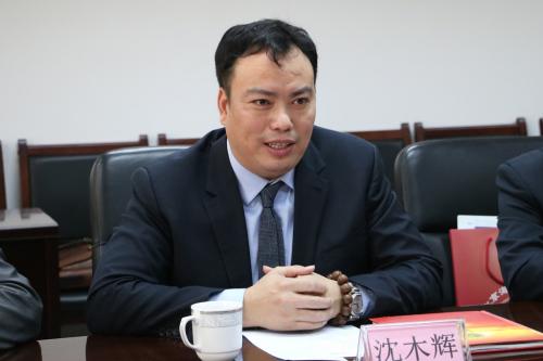 俄罗斯中国一带一路贸易促进会名誉会长沈木辉发言
