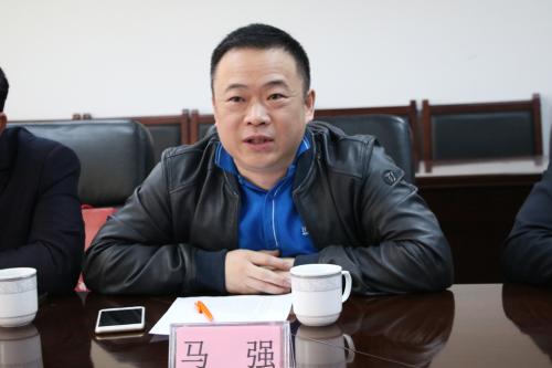 俄罗斯华侨华人联合会副会长马强发言