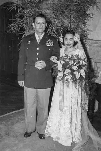陈香梅与丈夫陈纳德