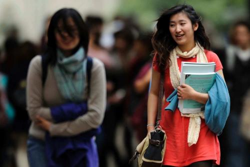 澳大利亚亚裔学生。(图片来源:澳大利亚《星岛日报》)
