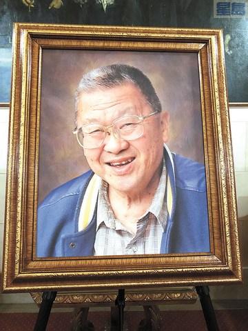 蔡流轮医生肖像。(美国《星岛日报》/刘康泰 摄)
