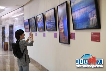 """""""丝路之旅""""摄影展亮相博鳌亚洲论坛。"""