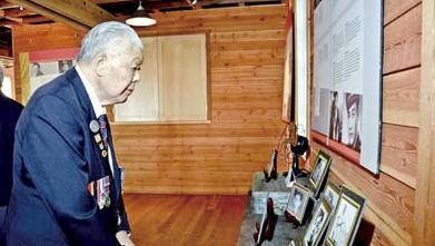 加拿大举办展览,表彰华裔军人在第二次世界大战期间作出的贡献。(加拿大《星岛日报》/列治文市政府 提供)