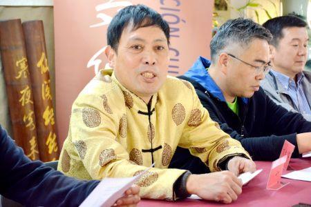 茶文化协会会长林东先生(图片来源:西班牙《欧华报》)