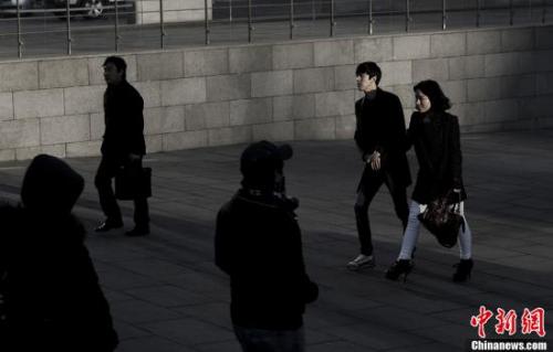 资料图:韩国人。<a target='_blank' href='http://www.chinanews.com/'>中新社</a>发 刘关关 摄