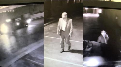 科汶纳警方提供的嫌犯照片。(美国《侨报》)