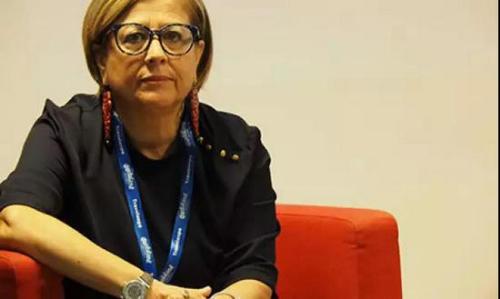 """欧洲""""欢迎中国""""认证协会总经理Concetta Caravello。(欧洲时报意大利版微信公众号)"""