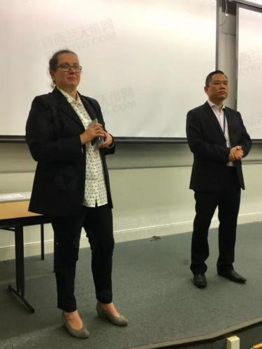 左为:Bridget Doell (图片来源:新西兰天维网)