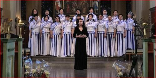 瑞典华人爱乐合唱团指挥杨筱音清唱唐诗歌曲《阳关三叠 》