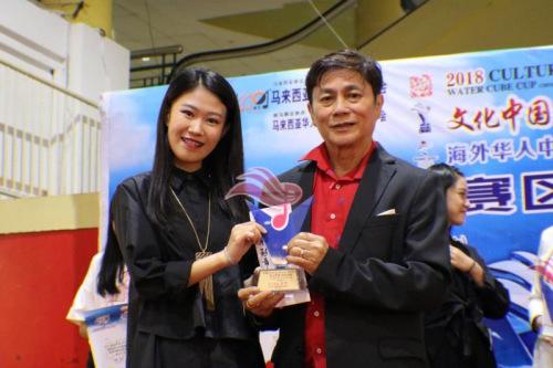青少年组冠军:张曼娟