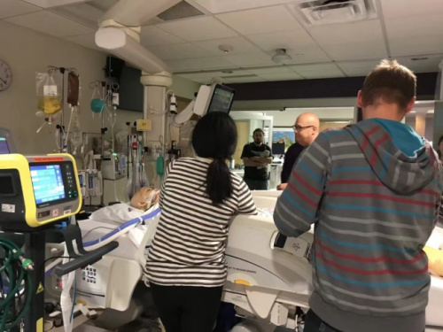 阿妮雅在第二次病发入院后,医生曾发出三次病危通知。(图片来源:张美琪提供)