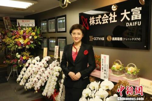 台庆当天张丽玲在电视台。 CCTV大富供图