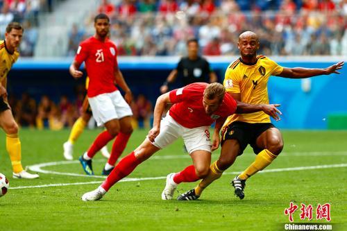 英格兰队最终获得世界杯第四名。 <a target='_blank' href='http://www.chinanews.com/'>中新社</a>记者 富田 摄