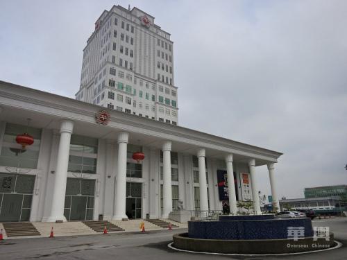 华人博物馆所在地——华总大厦。(如无特殊说明,本文图片均来自华舆 揭荟颐/摄)