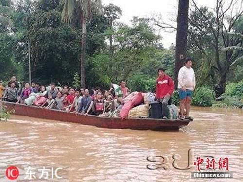 老挝水坝决堤多人失踪 中使馆:未发现中国公民伤亡
