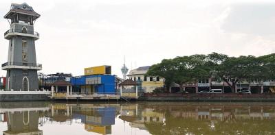 丹绒查里怡人的景色。(马来西亚光华网)