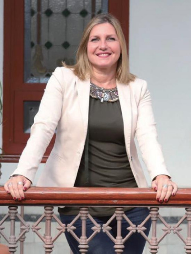 阿尔赫西拉斯市副市长Susana Pérez Custodio。(图片来源:受访者供图)
