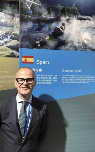 奥伦塞市长Jesús Vázquez Abad。(图片来源:受访者供图)