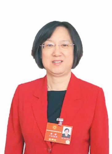 广东省侨联主席 黎 静