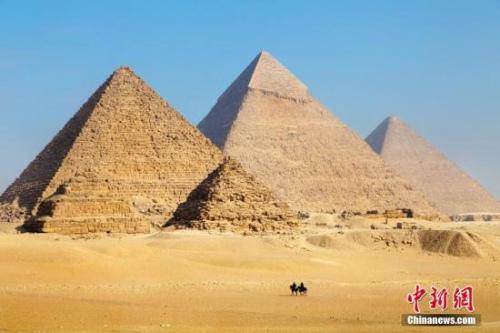 资料图:金字塔。 图片来源:图虫创意