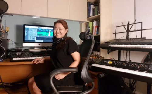 马来西亚音乐人邓莉璇。(马来西亚《星洲日报》)