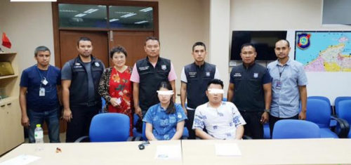 """中国""""黑导""""在泰国逼同胞购买额外旅游套餐   被警方逮捕"""