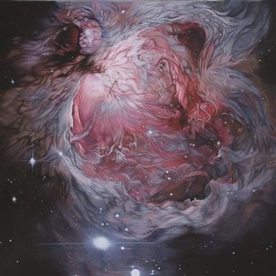 刺绣作品《猎户座星云》