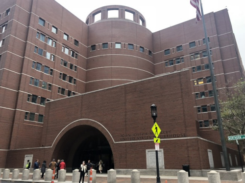 亚裔控告哈佛大学招生歧视案庭审最新资料公开哈佛招生办官员内部邮件。(美国《世界日报》记者刘晨懿之/摄影)