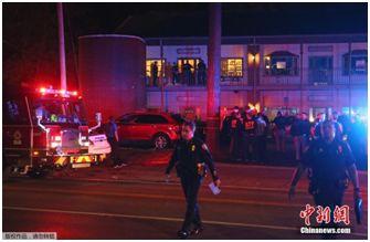 资料图:2018-12-11,一名男子在美国佛罗里达州一家瑜伽馆开枪打死1人,重伤4人,然后自杀。