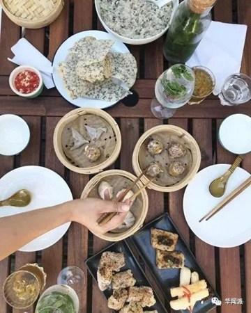 Phung Kay的食物。(英国《华闻周刊》微信公众号)