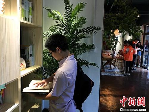 资料图:台湾青年入住福建厦门台青公寓。 <a target='_blank' href='http://www.chinanews.com/'>中新社</a>记者 杨伏山 摄