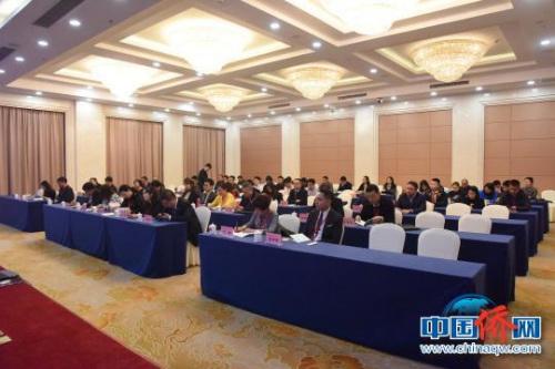 60余名青年侨胞相聚河北了解发展前景 陈国光 摄