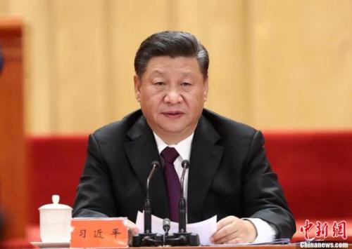 12月18日,庆祝改革开放40周年大会在北京人民大会堂隆重举行。中共中央总书记、国家主席、中央军委主席习近平在大会上发表重要讲话。<a target='_blank' href='http://www.chinanews.com/'>中新社</a>记者 盛佳鹏 摄