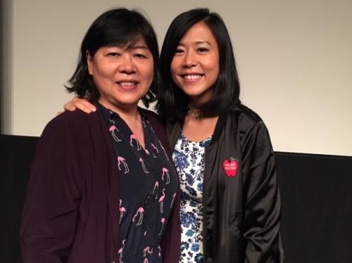 资料图,在皮克斯动画工作的石之予(右)把自己与母亲的故事拍摄成以中国美食为主题的动画《包》,入围奥斯卡最佳动画短片提名(美国《世界日报》)