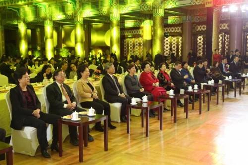 参加首都侨界新春联谊会的来宾。北京市侨办供图