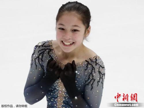 年仅13岁的华裔花式滑冰选手刘美贤,25日晚间赢得美国花式滑冰锦标赛女子单人冠军。
