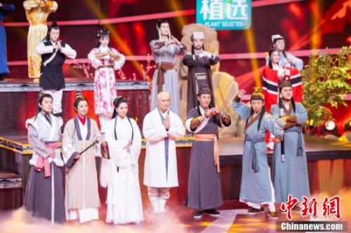 """众多知名演员亮相""""四海同春""""2019全球华侨华人春节大联欢录制现场。"""
