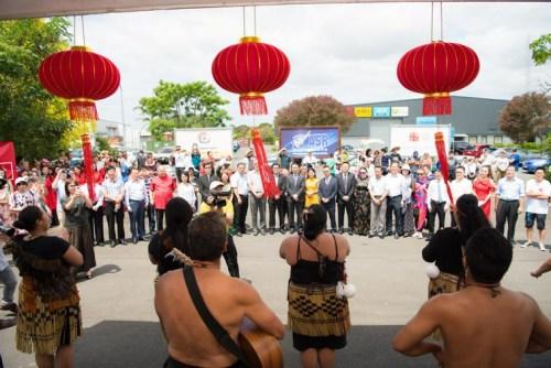 新西兰传统毛利舞蹈 HAKA。(新西兰中华新闻社)