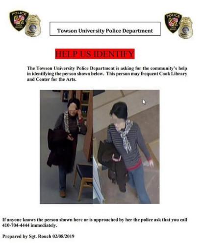 陶森大学校警甚至发布了警情提示