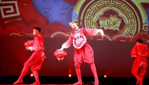 舞蹈《亥猪乐道》。