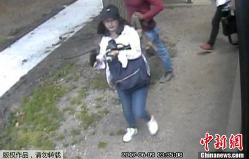 资料图片:中国访问学者章莹颖。